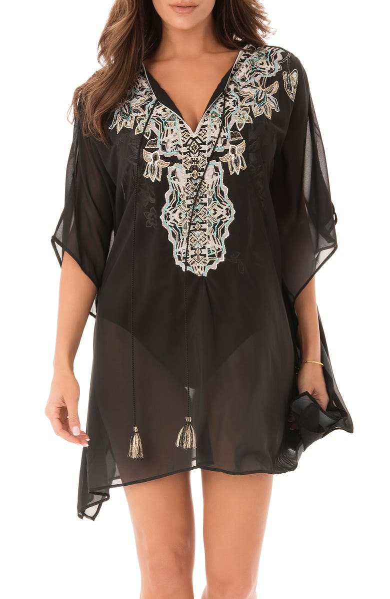 MIRACLESUIT<SUP>®</SUP> Cloisonne Caftan Cover-Up, Main, color, BLW