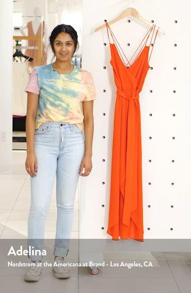 High/Low Faux Wrap Dress, sales video thumbnail
