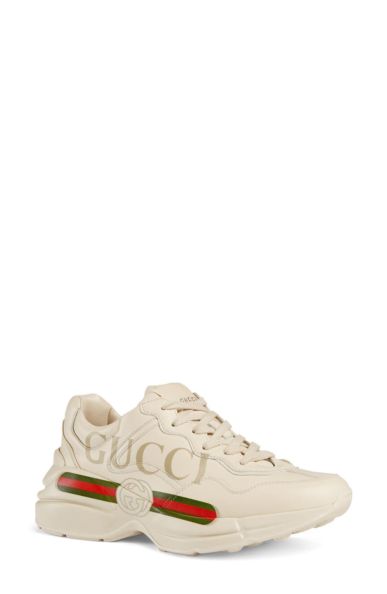 Gucci Rhyton Logo Sneaker - Ivory