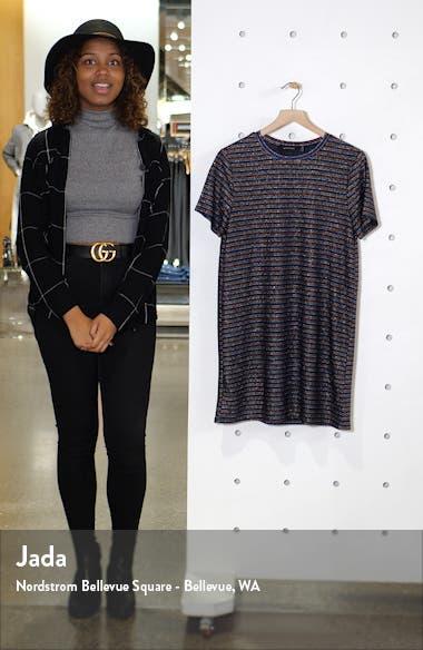 Dream a Dream Metallic T-Shirt Dress, sales video thumbnail