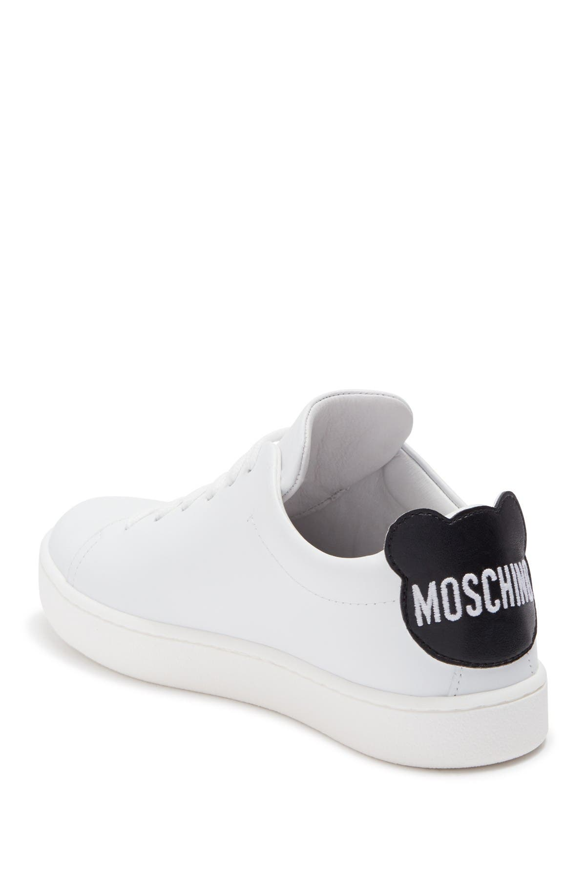 Image of MOSCHINO Bear Patch Sneaker