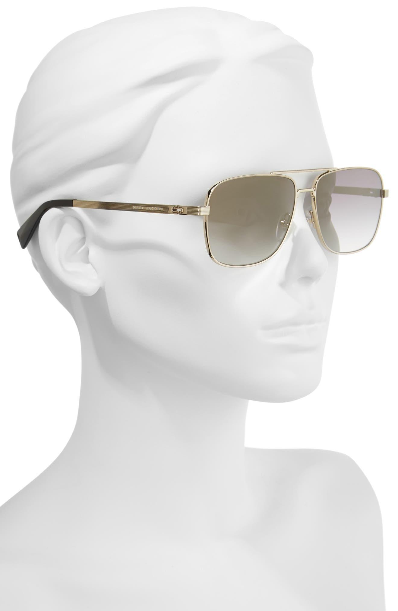 ,                             59mm Gradient Navigator Sunglasses,                             Alternate thumbnail 5, color,                             711