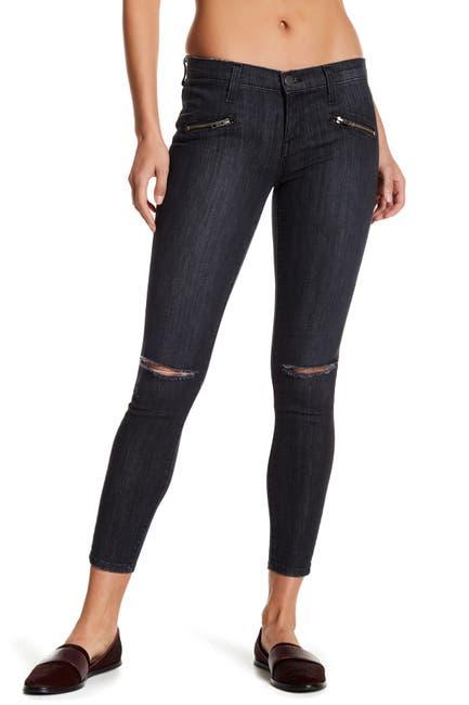 Image of Current/Elliott Soho Stiletto Distressed Skinny Jeans