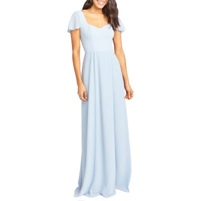 Show Me Your Mumu Marie Sweetheart Gown, Blue