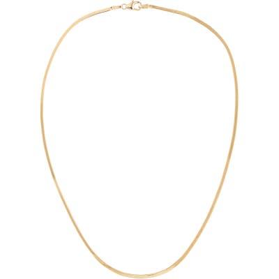 Lana Jewelry Thin Liquid Gold Choker Necklace