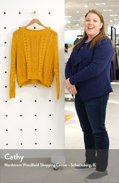 Kimmy Cotton Blend Sweater, sales video thumbnail