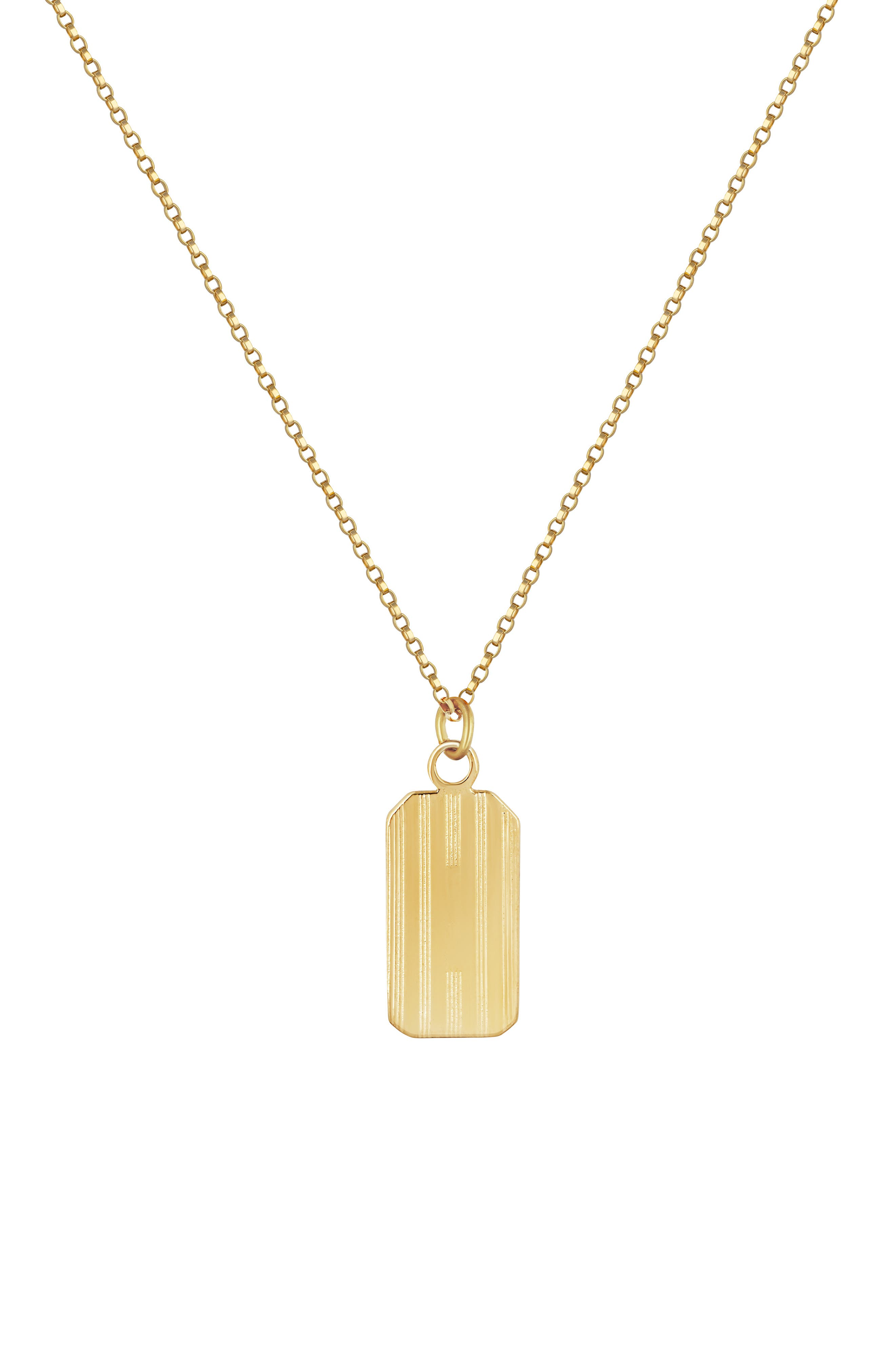Henley Tag Necklace