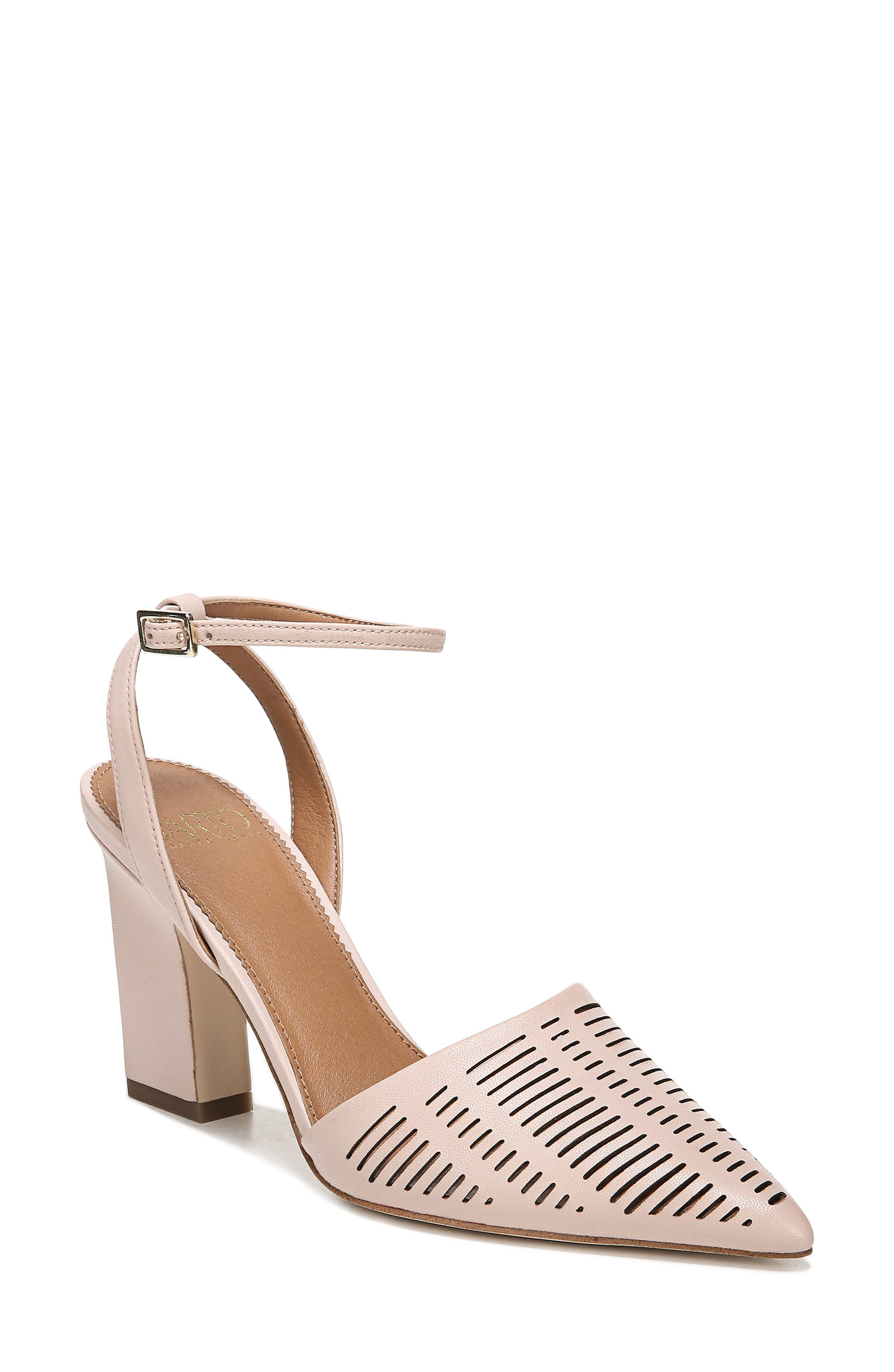 Sarto By Franco Sarto Starla Ankle Strap Pump- Pink