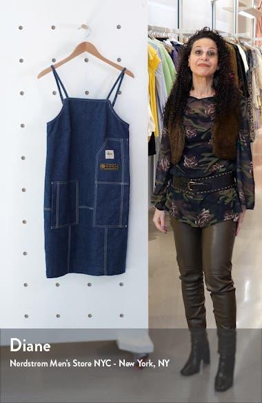x Stüssy Denim Apron Dress, sales video thumbnail
