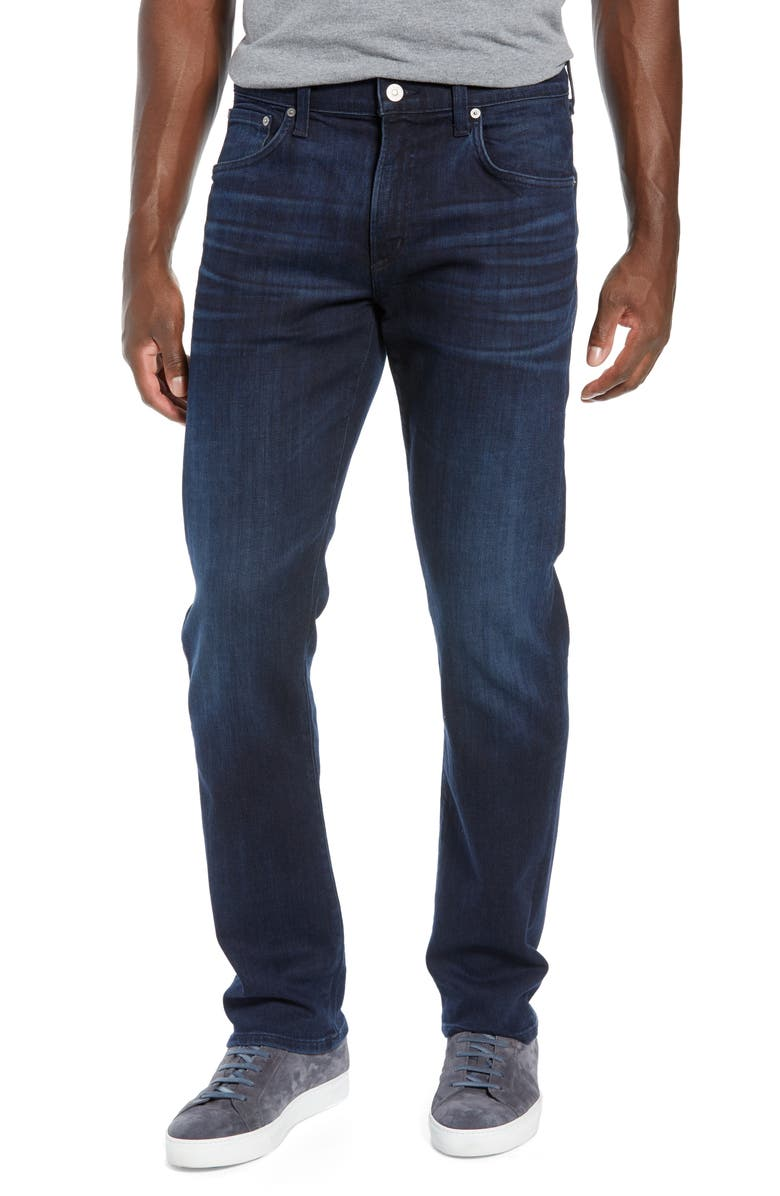 CITIZENS OF HUMANITY Gage Slim Straight Leg Jeans, Main, color, GRAYSON