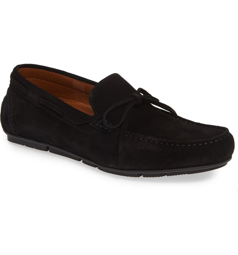 AQUATALIA Brian Water Resistant Driving Shoe, Main, color, 001