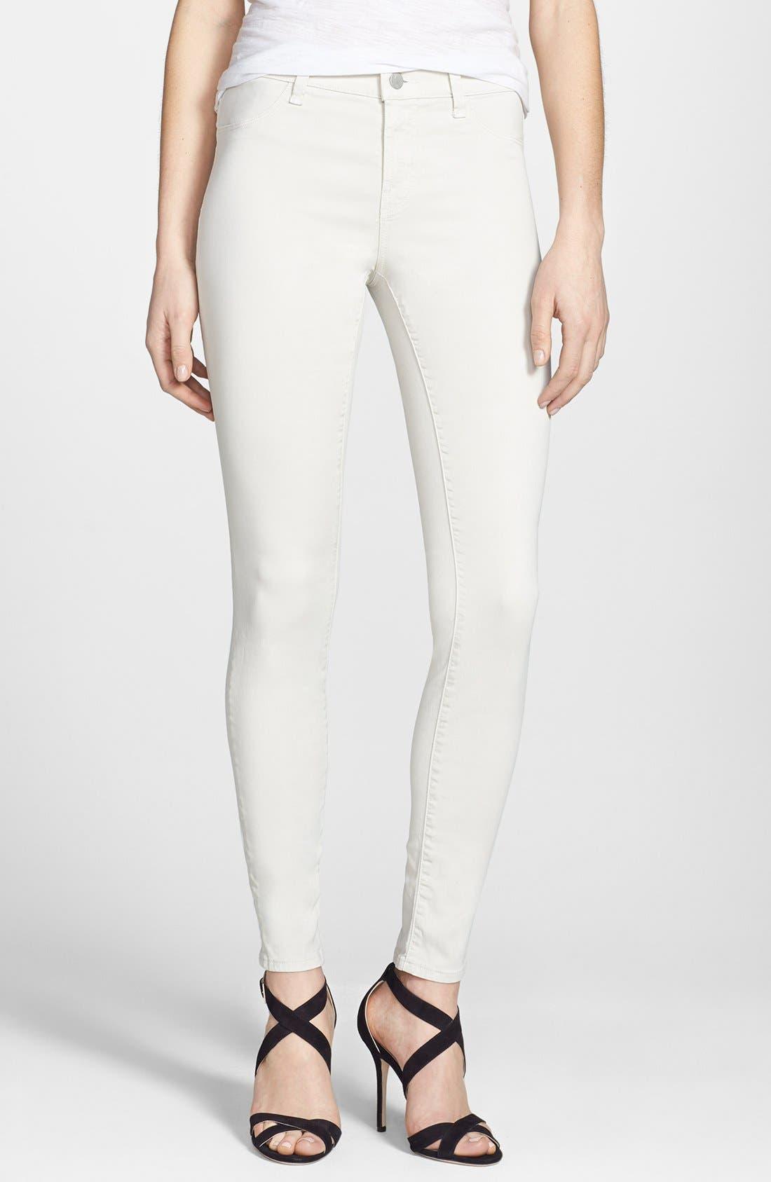 ,                             '485' Mid Rise Super Skinny Jeans,                             Alternate thumbnail 32, color,                             275