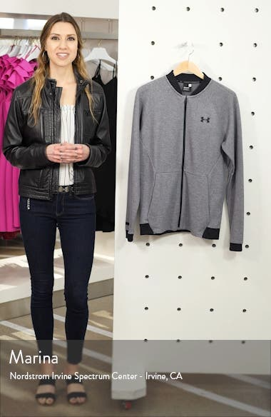 Unstoppable Double Knit Bomber Jacket, sales video thumbnail