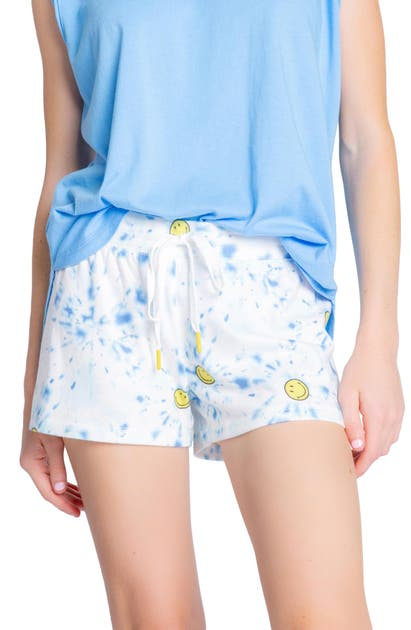 Pj Salvage SMILEY TIE DYE LOUNGE SHORTS