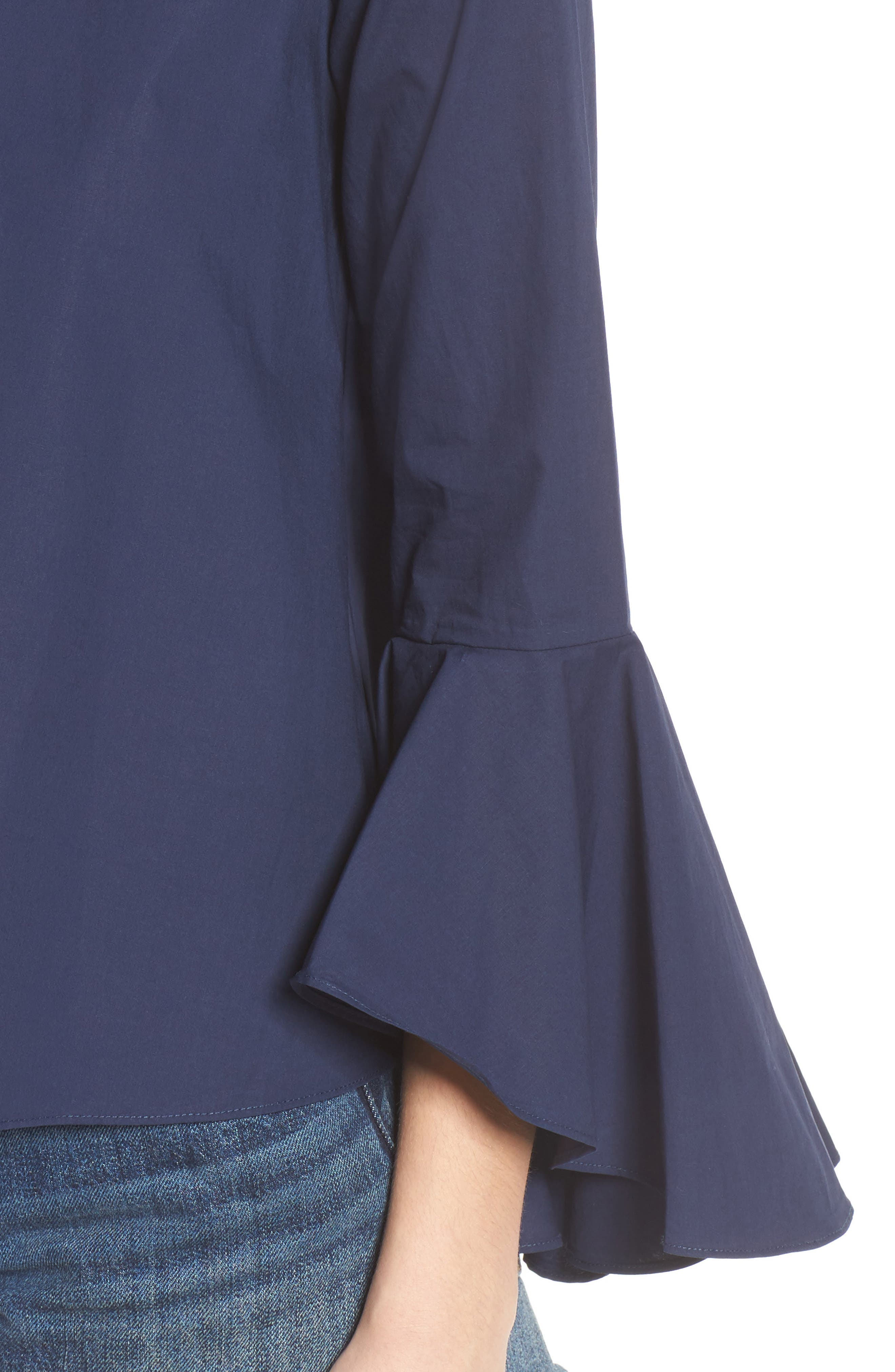 ,                             Bell Sleeve Top,                             Alternate thumbnail 9, color,                             410