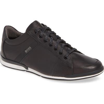 Boss Hugo Boss Saturn Low Top Sneaker, Black