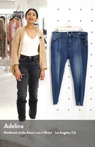 Connie High Waist Bitten Hem Ankle Skinny Jeans, sales video thumbnail