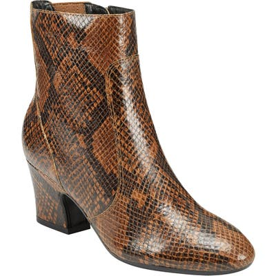 Evolve Camile 6 Bootie- Brown