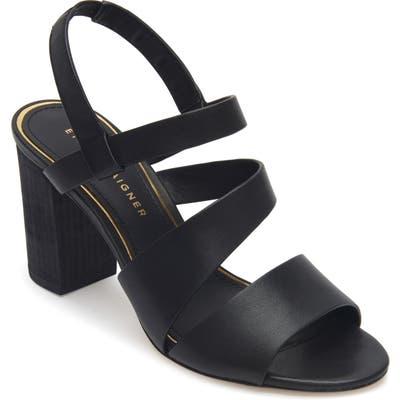 Etienne Aigner Lane Block Heel Sandal, Black