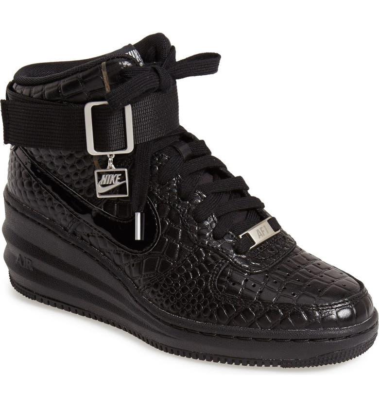 'Lunar Force 1 Sky Hi' Sneaker