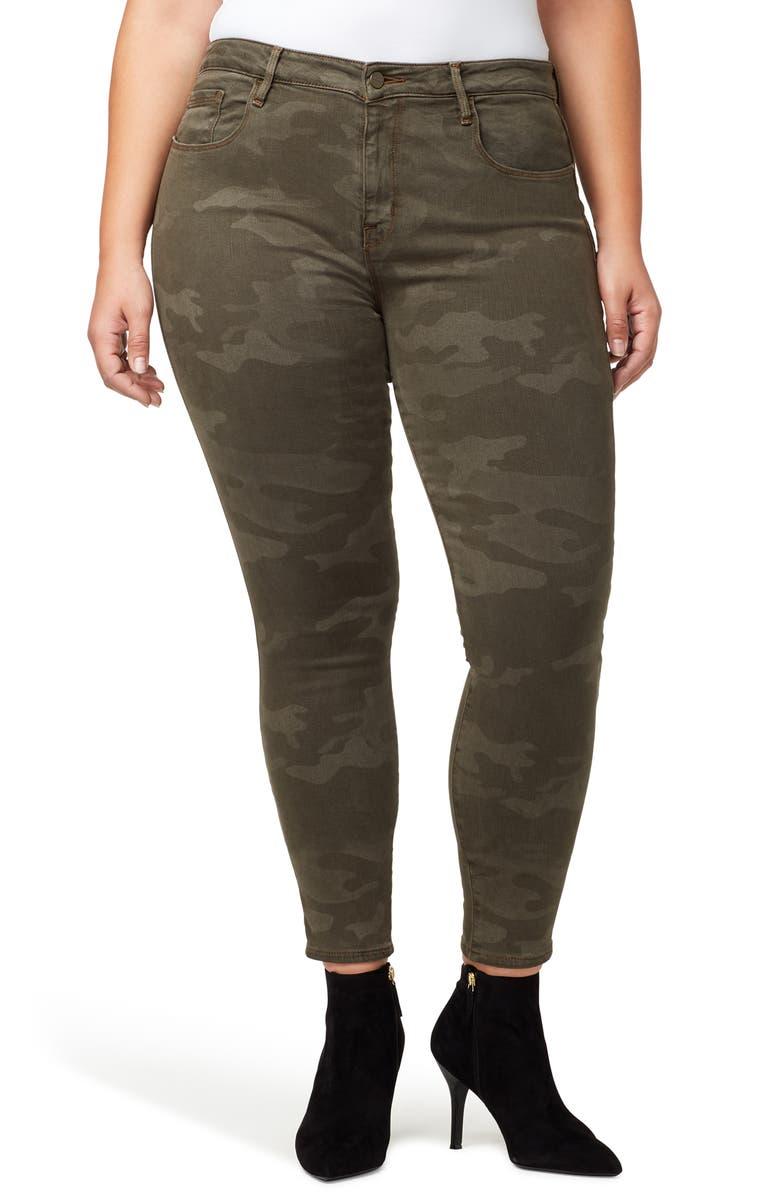 SANCTUARY Social Standard Ankle Skinny Jeans, Main, color, PROSPERITY CAMO