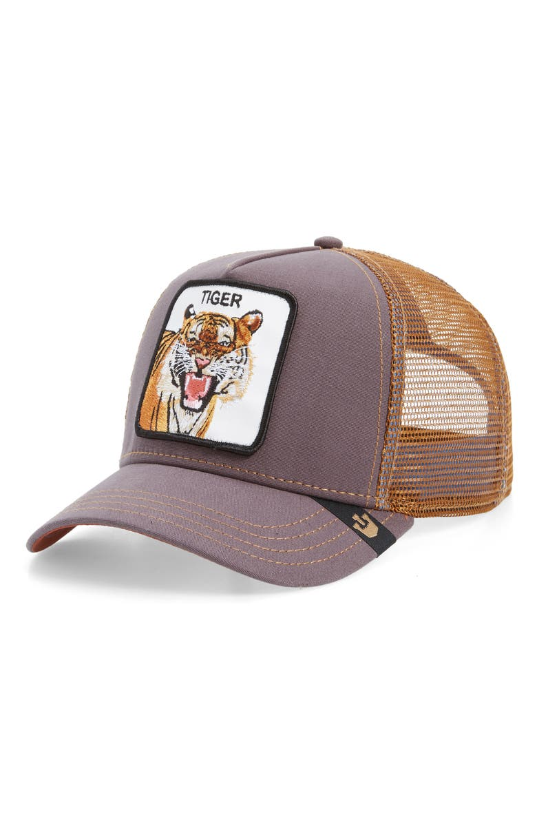 GOORIN BROS. Eye of The Tiger Trucker Hat, Main, color, 201
