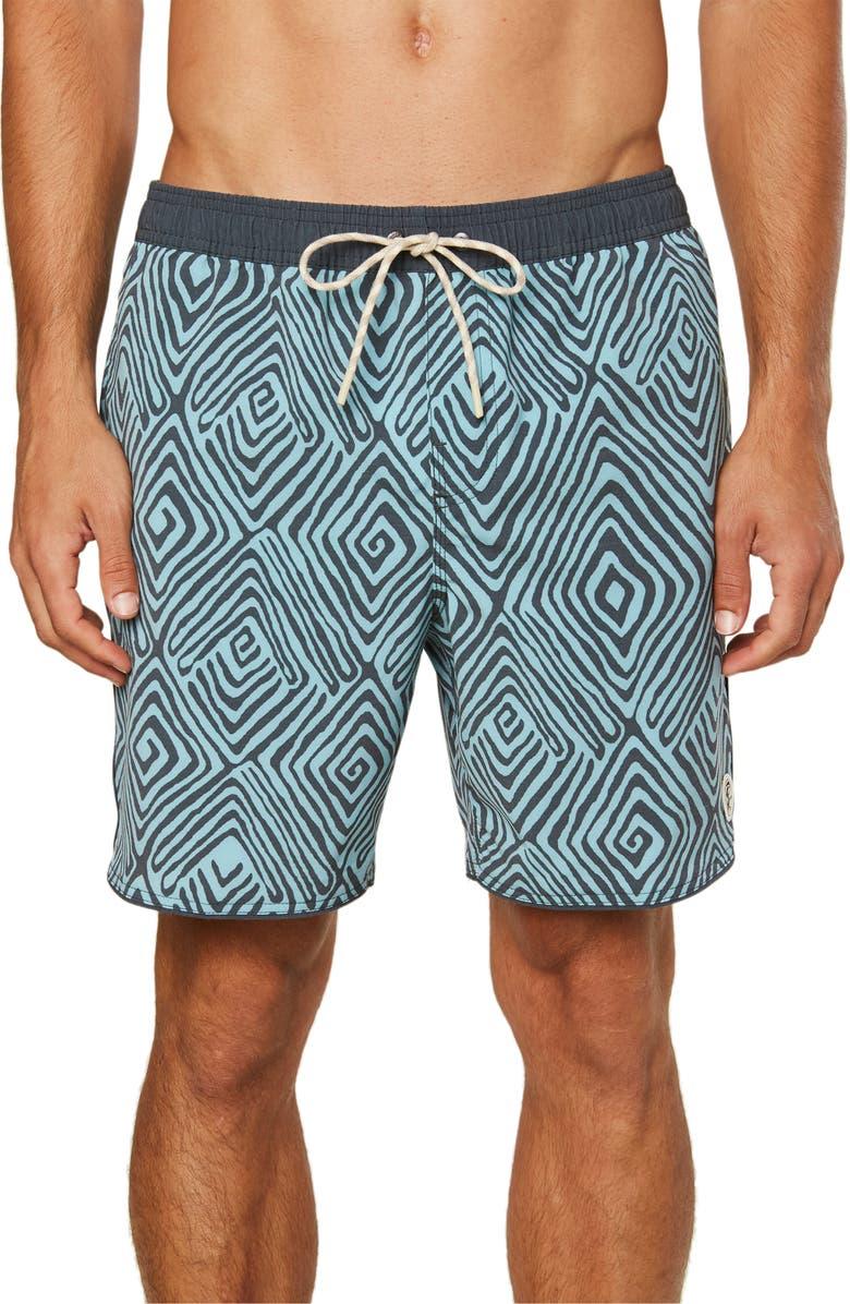 O'NEILL Seconds Volley Cruzer Board Shorts, Main, color, ASPHALT
