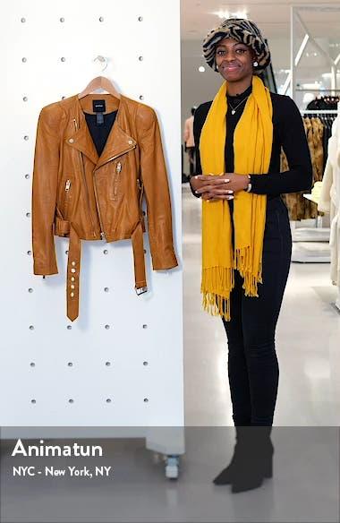 Pagoda Leather Moto Jacket, sales video thumbnail