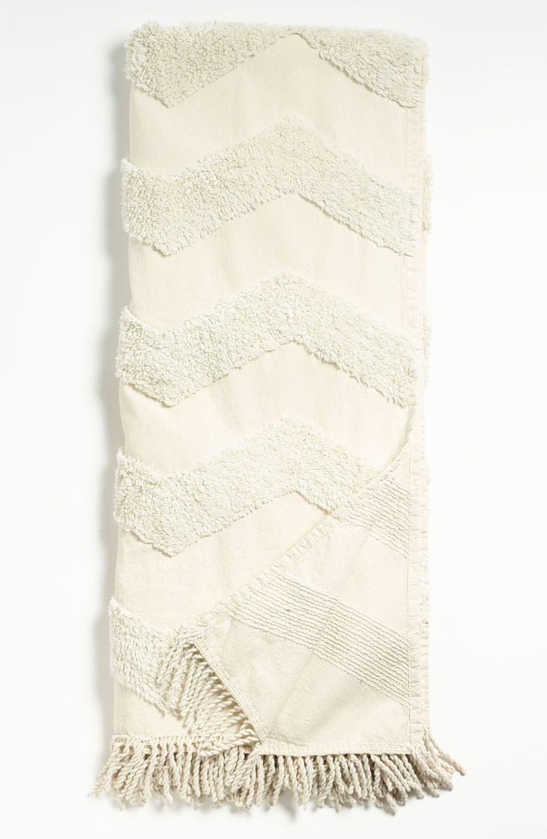 NORDSTROM AT HOME Zigzag Tufted Throw, Main, color, 270
