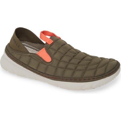 Merrell Hut Quilted Moc Sneaker, Green