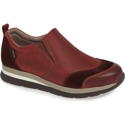 Bionica Talma Waterproof Slip-On Sneaker- Burgundy