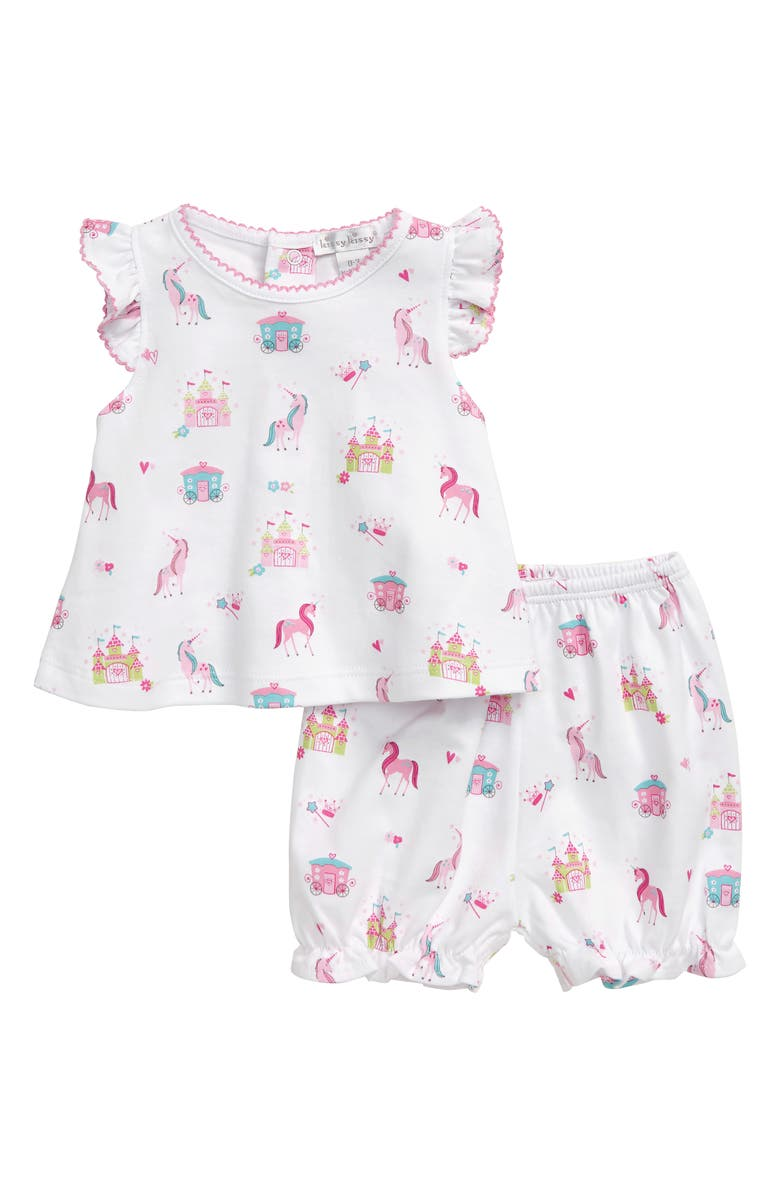 KISSY KISSY Unicorn Magic Swing Top & Bubble Shorts Set, Main, color, 650