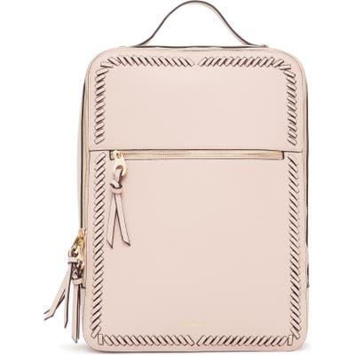 Calpak Kaya Faux Leather Laptop Backpack - Pink