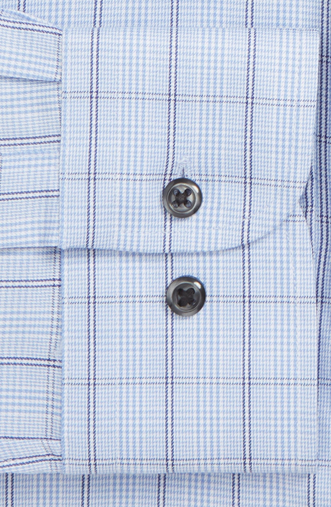 ,                             Traditional Fit Non-Iron Plaid Dress Shirt,                             Alternate thumbnail 2, color,                             450