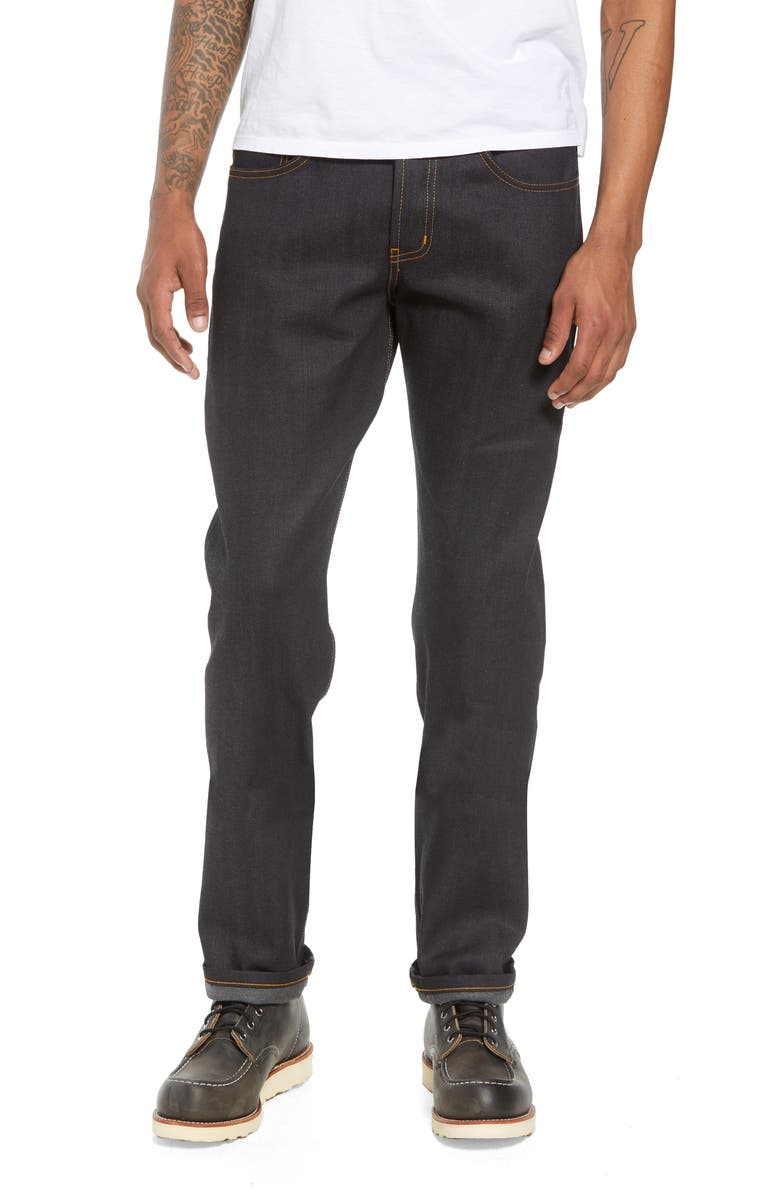 NAKED & FAMOUS DENIM Weird Guy Slim Fit Jeans, Main, color, 401