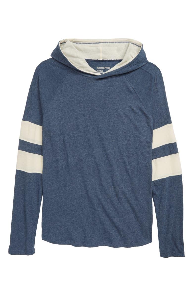 TUCKER + TATE Expert Explorer Hooded T-Shirt, Main, color, NAVY DENIM