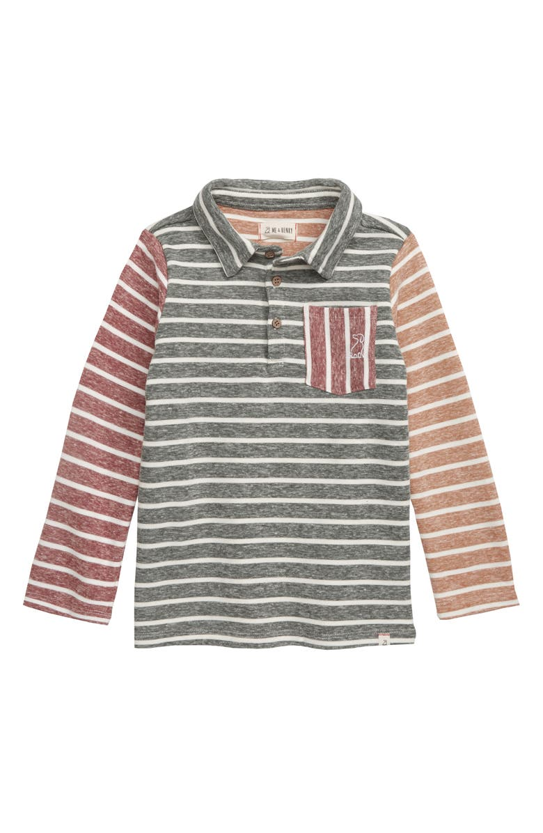 ME & HENRY Stripe Polo, Main, color, 300