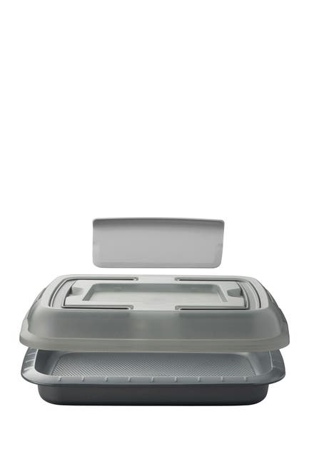 Image of BergHOFF GEM Covered Cake Pan with Slicer