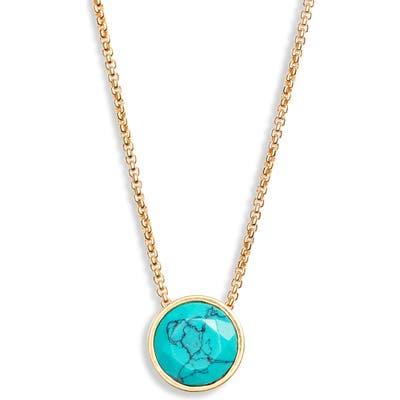 Dean Davidson Knockout Turquoise Pendant Necklace