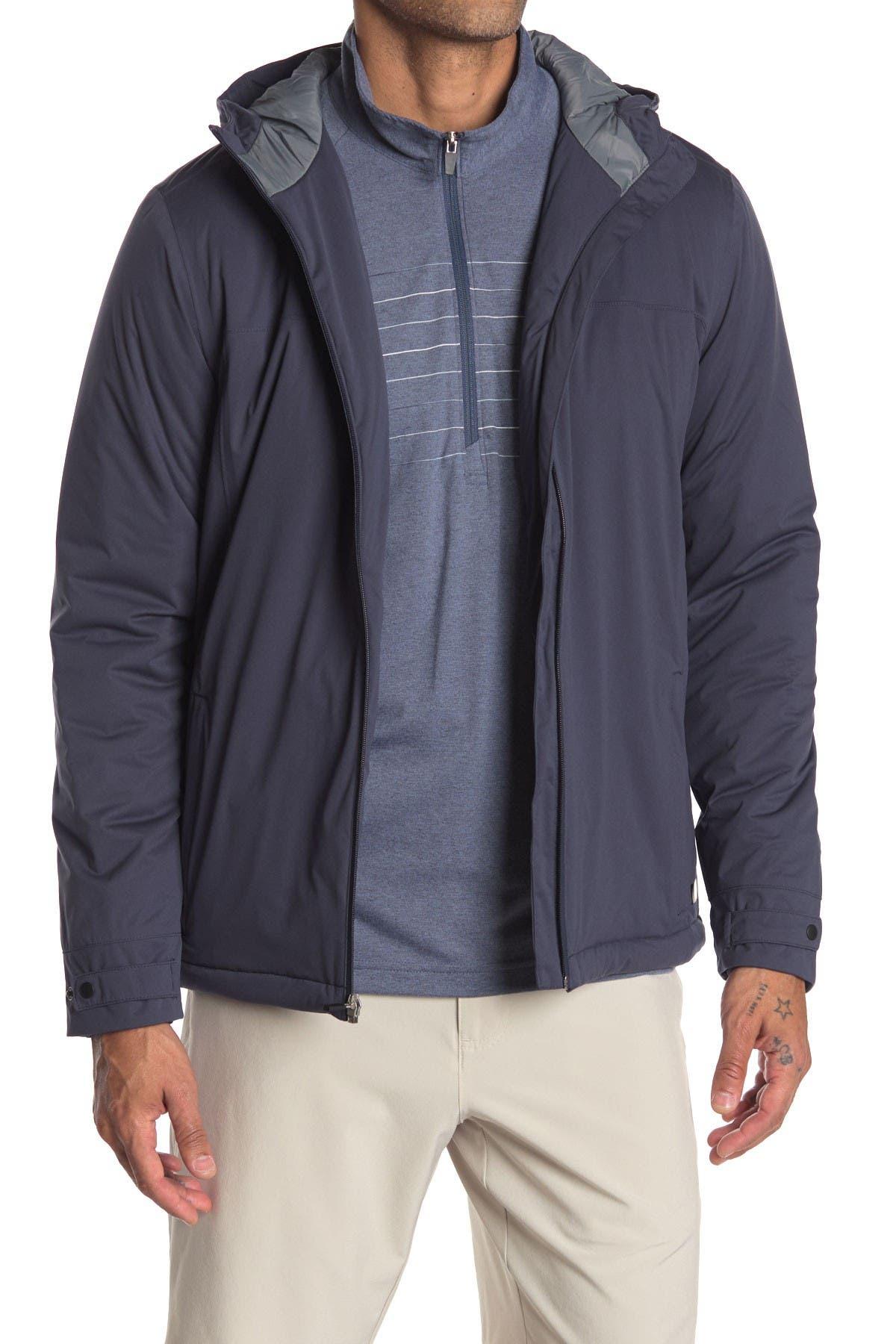 Image of TRAVIS MATHEW Raincheck Front Zip Jacket
