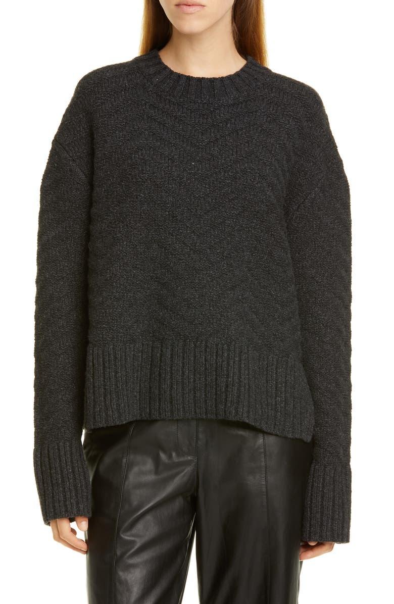 JASON WU Chevron Sweater, Main, color, 022