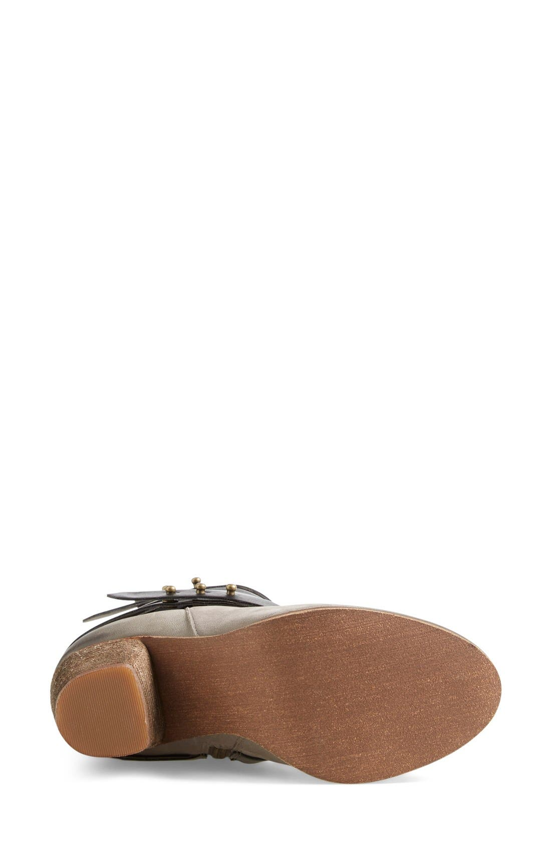 ,                             'Train' Wrap Belted Bootie,                             Alternate thumbnail 10, color,                             025