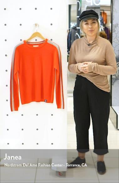 Stripe Sleeve Sweater, sales video thumbnail