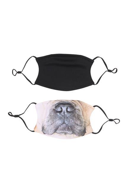 Image of MONOGRAMONLINE Fashion Printed Face Masks - Set of 2