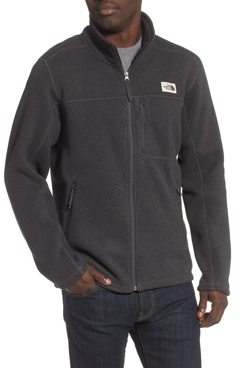 THE NORTH FACE Gordon Lyons Sweater Knit Jacket, Main, color, 021