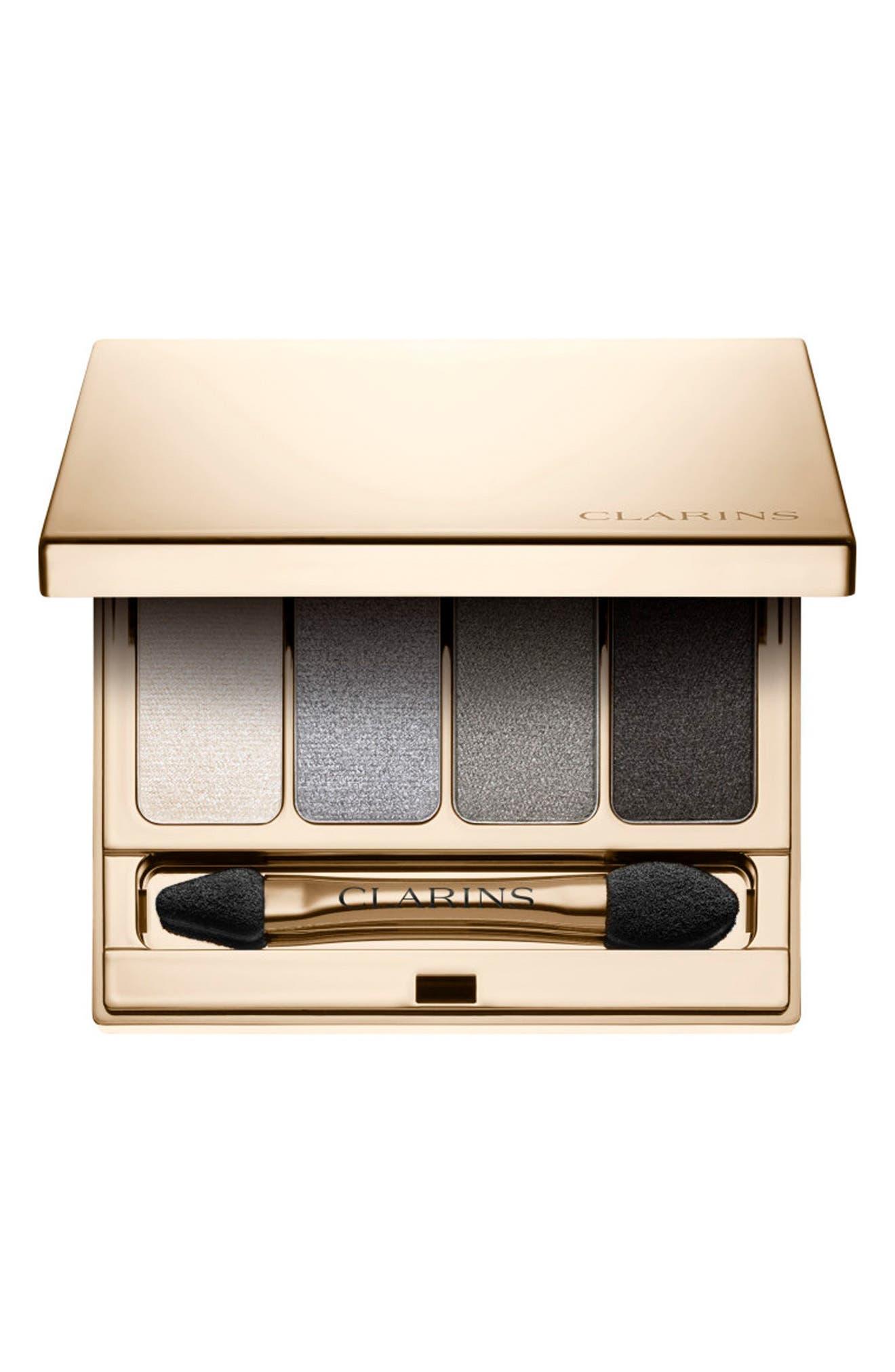 4-Colour Eyeshadow Palette, Main, color, SMOKEY