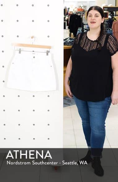 The Viper Denim Miniskirt, sales video thumbnail