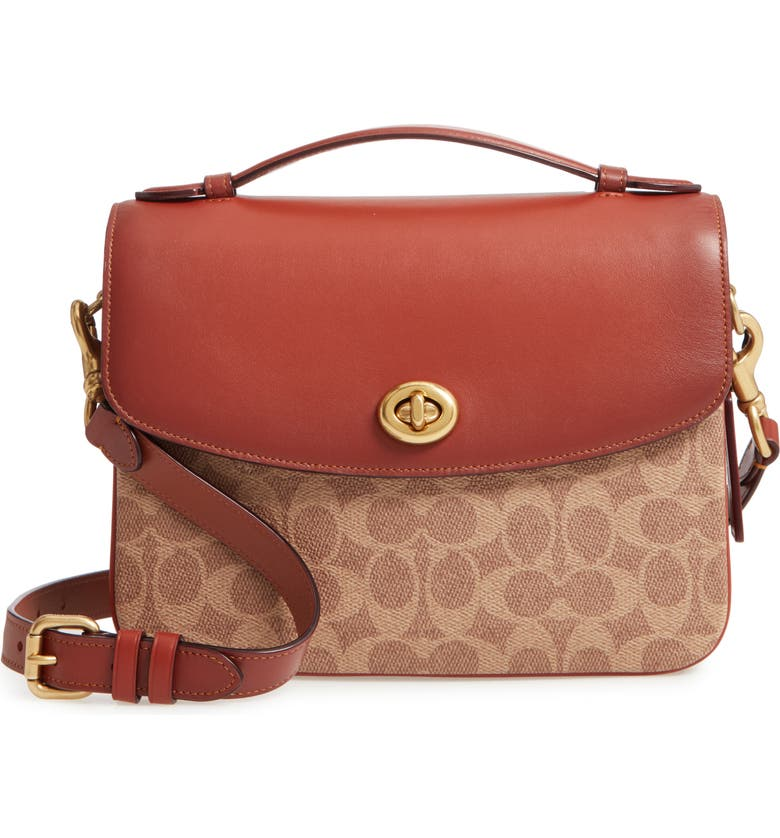 COACH Chaise Signature Canvas Leather Crossbody Bag