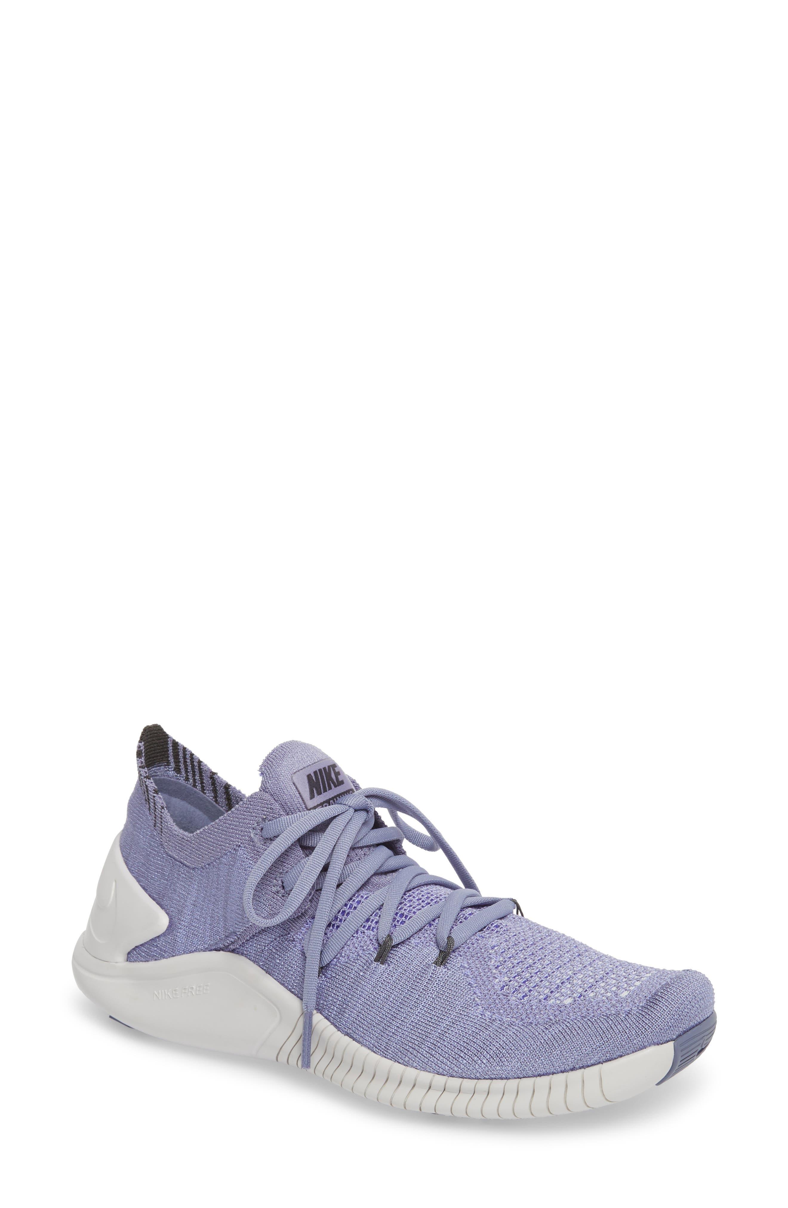 ,                             Free TR Flyknit 3 Training Shoe,                             Main thumbnail 72, color,                             500