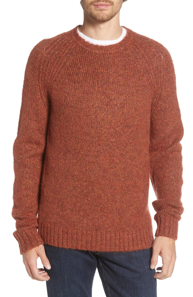 ALEX MILL Raglan Crewneck Sweater, Main, color, 200